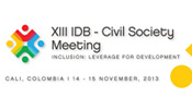 GFDD and FUNGLODE to Attend XIII IDB Civil Society Meeting