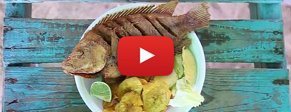 Dominicana Online - Comida Tipica en la playa de Boca Chica