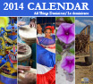 "GFDD's 2014 Calendar ""All Things Dominican"""